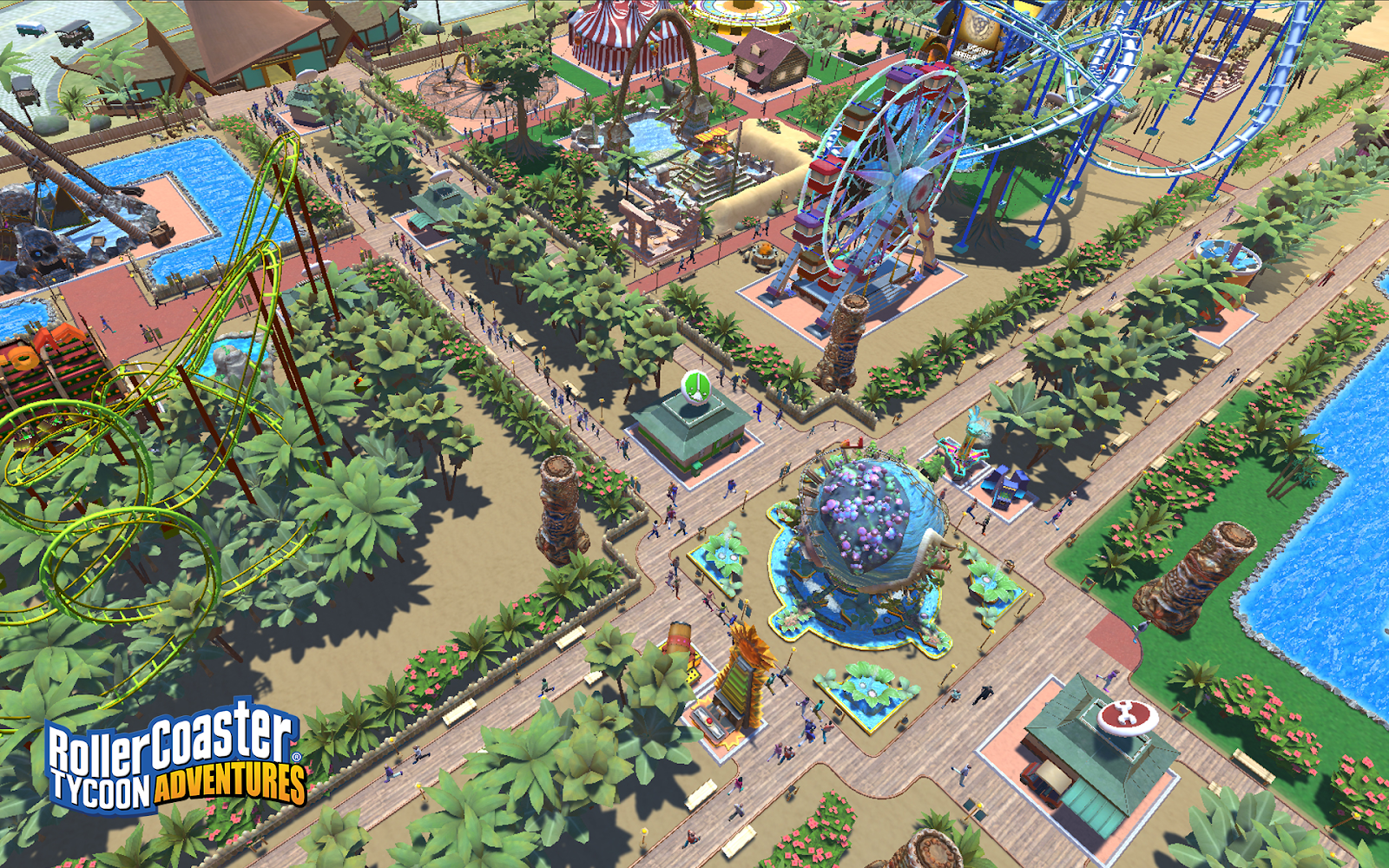 RollerCoaster Tycoon® Adventures Available Now for Windows PC Exclusively through the Epic Games store