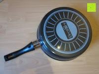 unten: TV Unser Original 08832 Bratoni Geschmiedete Aluminium-Hochrandpfanne mit Hitzekontrolle, 28 cm