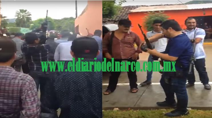 """VIDEOS: Así es como narcos festejan con cientos de disparos la fiesta de su santa patrona """"La Virgen de Los Remedios"""" en Durango"""