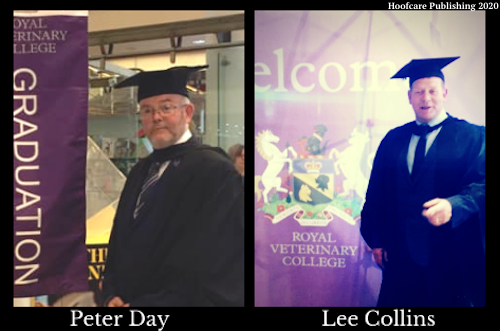 Peter Day and Lee Collins, RVC Graduate Diploma Equine Locomtion Research