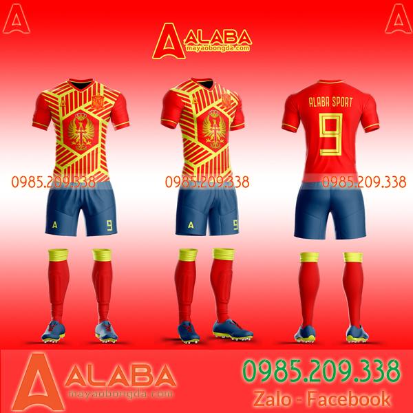 Áo đấu tuyển Tây Ban Nha đẹp