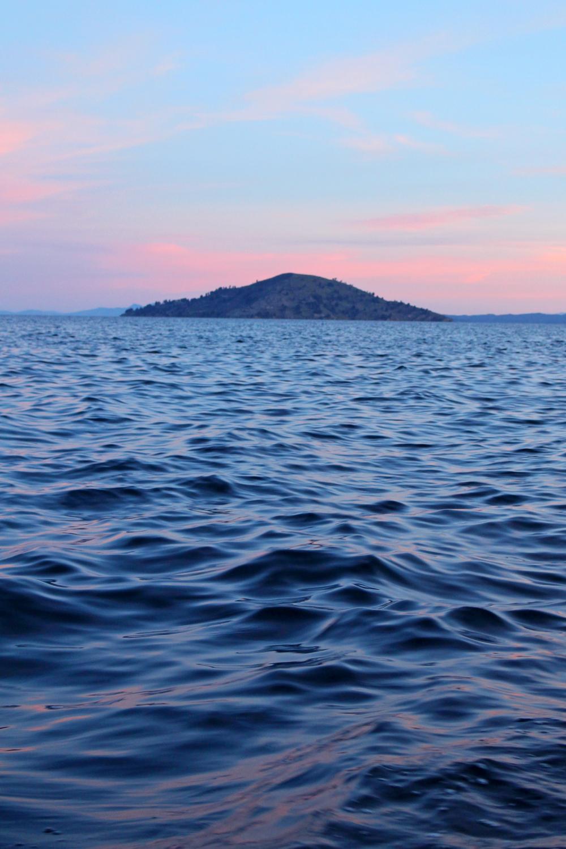 Sunset on Lake Titicaca, Peru - South America travel blog