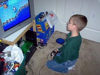anak bermain game bisa berbahaya