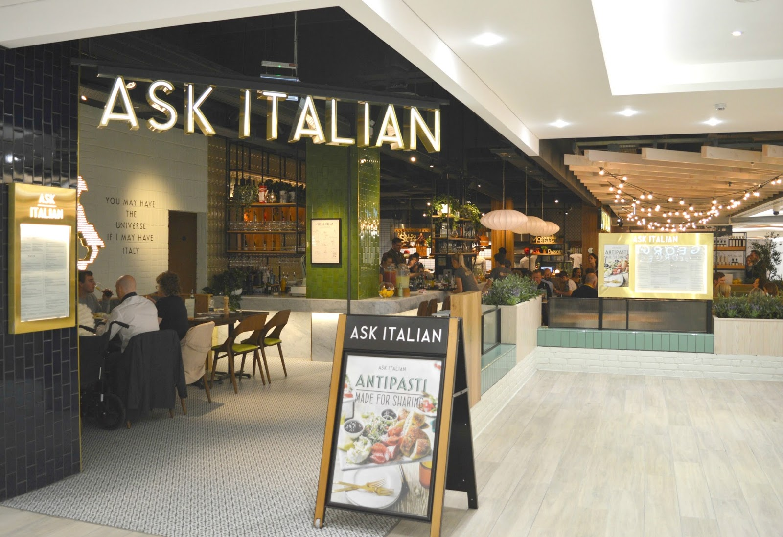 Intu Eldon Square: Grey's Quarter - ASK Italian