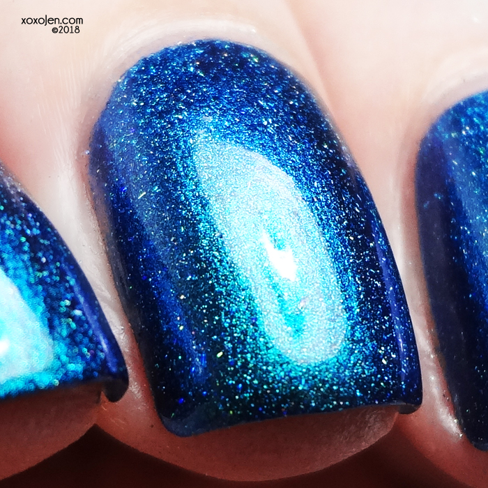 xoxoJen's swatch of KBShimmer Some Like It Scot