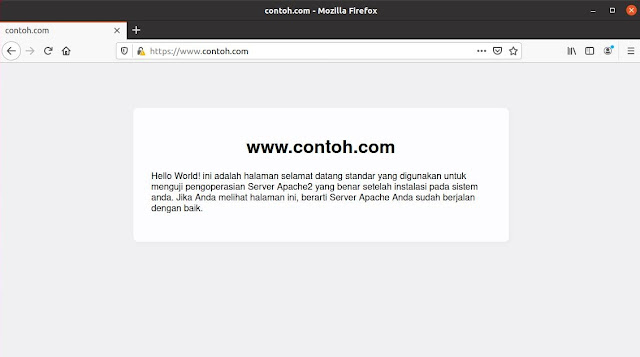 Belajar Membuat SSL Self Sign Certificate di Centos 7