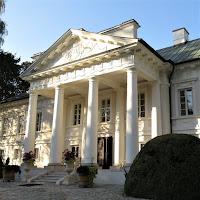 Portyk Pałacu w Małej Wsi