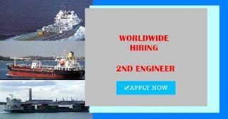 Seaman Job 2nd Engineer For Oil Tanker Vessel