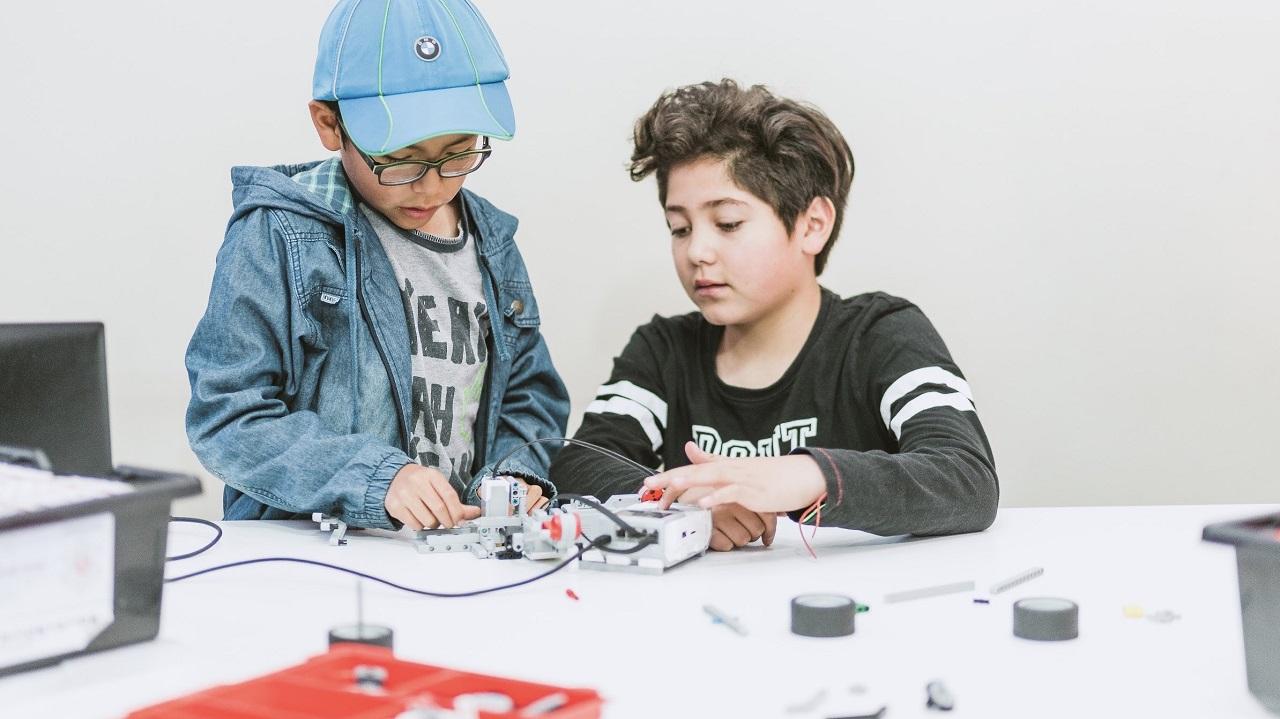 clases de robotica para niños