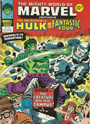 Mighty World of Marvel #313, the Hulk