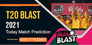 Vitality T20 Blast, Match Quarter Final 1 T20: Sussex vs Yorkshire Today Match Prediction Ball By Ball