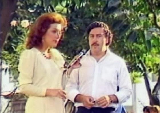 Virginia Vallejo entrevista a Pablo Escobar