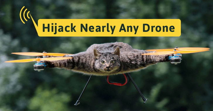 You Can Hijack Nearly Any Drone Mid-flight Using This Tiny Gadget