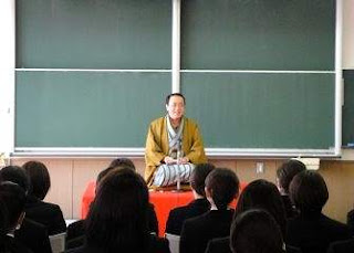 三遊亭楽春講演会「笑いの効果で元気向上」