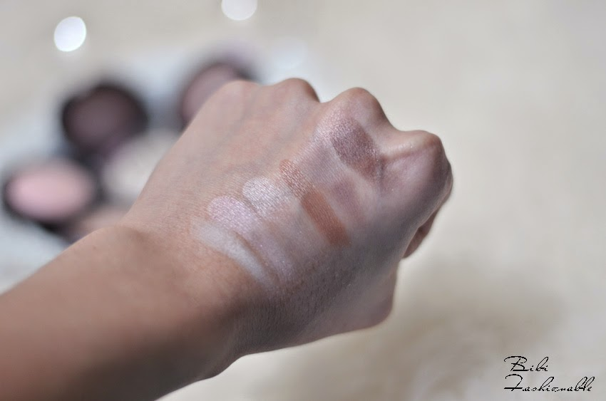 essenve I love nude eyeshadows Swatches