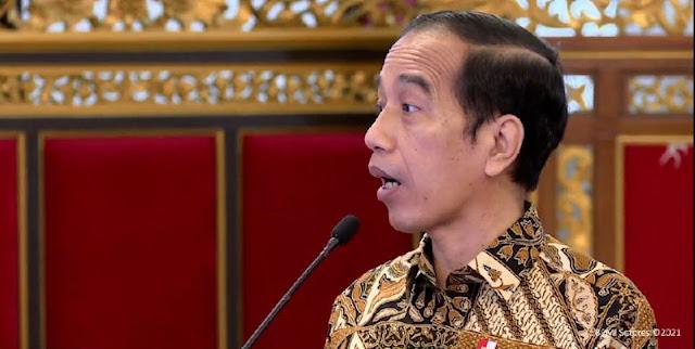 Tidak Mau Merusak Ekonomi, Jokowi: Untuk Apa Lockdown Kalau Yang Terkena Virus Cuma Satu Kelurahan?