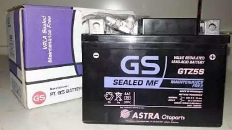 gambar aki aki GS Astra