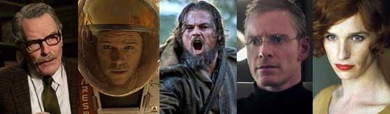 Melhor Ator - Oscar 2016