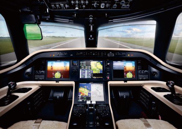 Embraer Legacy 500 cockpit