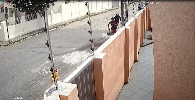 Polícia Civil divulga imagens e procura suspeito por homicídio no RN