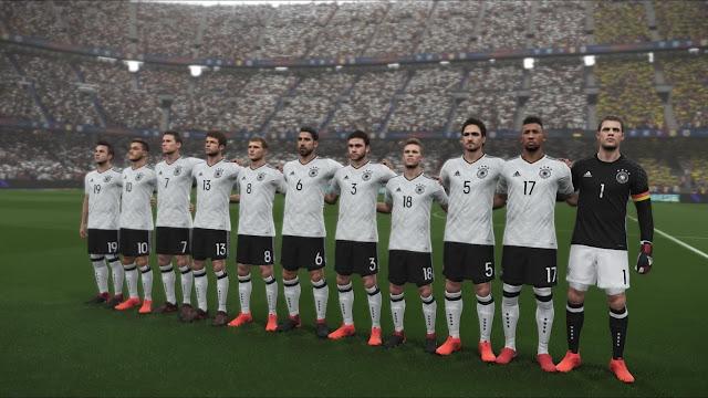 Alemania en PES 2018 PRO EVOLUTION  SOCCER LITE