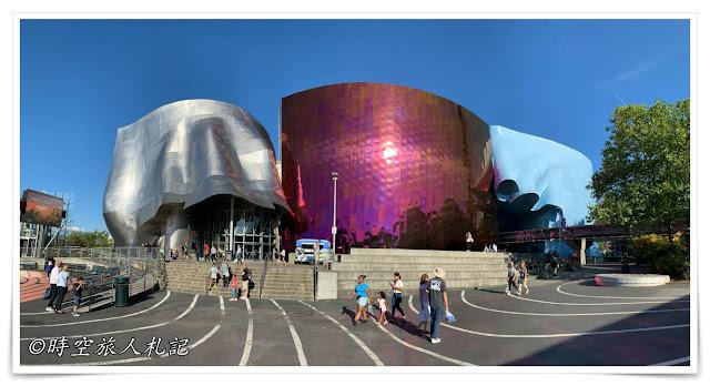 西雅圖市區 流行文化博物館 mopop