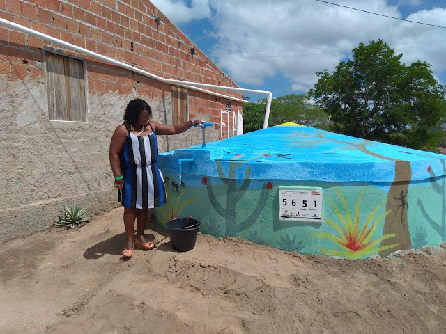 Famílias da zona rural de Piranhas conquistam acesso universal à água