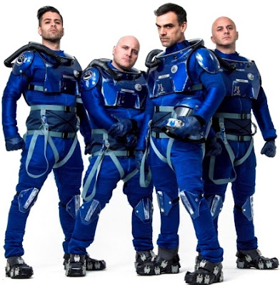 Foto de Caramelos de Cianuro como astronautas