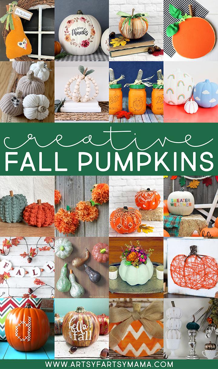Creative Fall Pumpkin Crafts