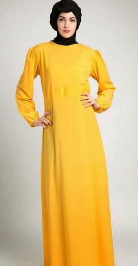 Model baju muslim orang gemuk trendy