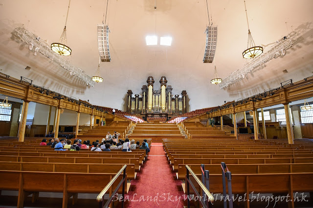 鹽湖城, 聖殿廣場, Temple Square, salt lake city, tabernacle, 大會堂