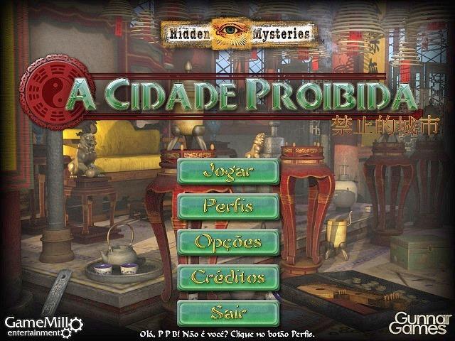 Hidden Mysteries - A Cidade Proibida