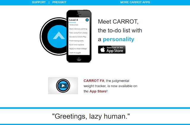 Carrot Entrepreneur App