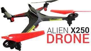 Spesifikasi XK Alien X250 - GudangDrone