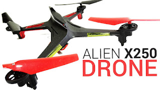 Spesifikasi XK Alien X250 - OmahDrones