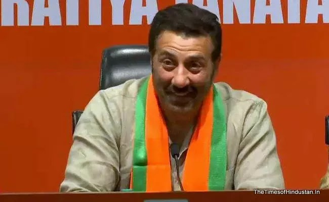 "thetimesofhindustan Actor Sunny Deol, on joining the BJP, said, ""I want PM Modi for the next five years"""