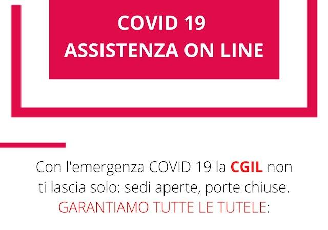 COVID 19 ASSISTENZA ON LINE