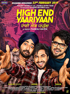High End Yaariyaan (2019) Full Punjabi Movie Download WEB-DL 720p