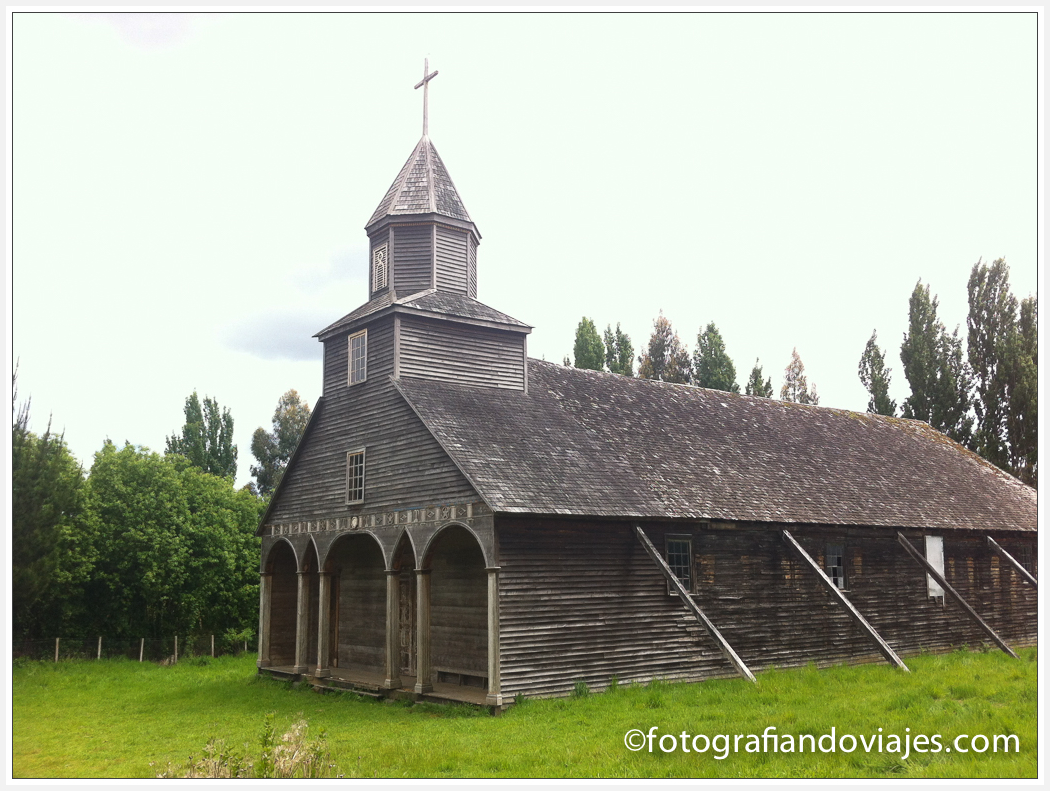 Iglesia isla Chiloe en Chile patrimonio de la humanidad