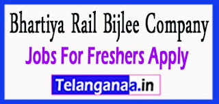 BRBCL Bhartiya Rail Bijlee Company Limited Recruitment Notification 2017 Last Date 26-04-2017