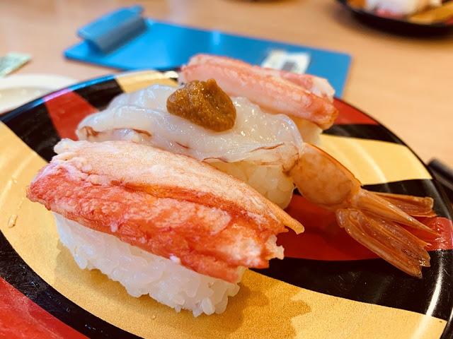 蝦蟹握壽司組合