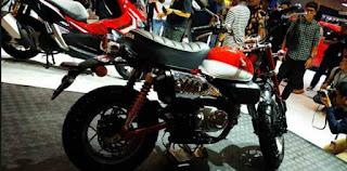 Honda Monkey Motor Klasik Yang Unik Dengan Pilihan 3 Warna, Tertarik?