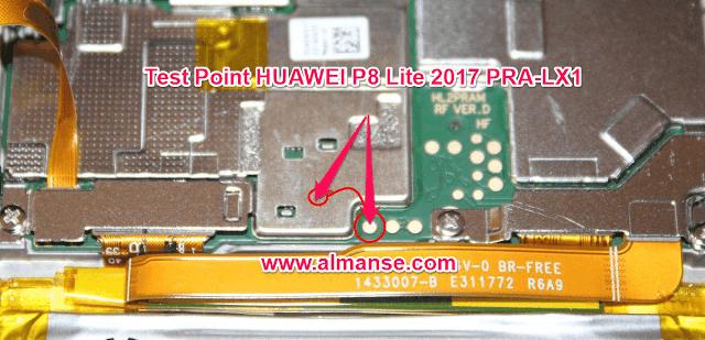 Test Point HUAWEI P8 Lite 2017 PRA-LX1