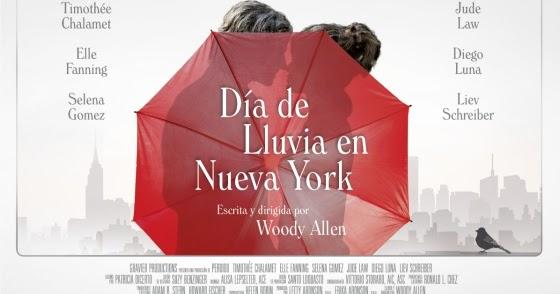 Día de lluvia en Nueva York: Woody Allen genial e incombustible al desaliento