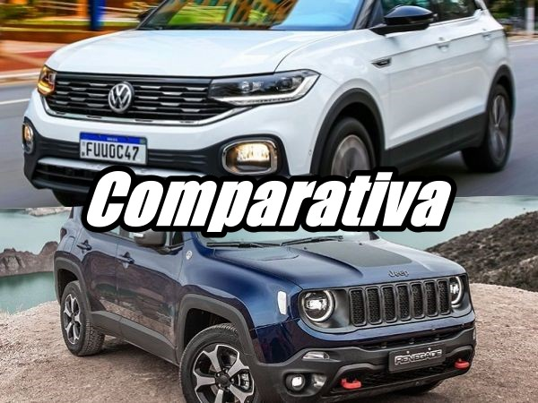 Comparativa Jeep Renegade vs Volkswagen T-Cross
