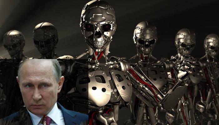 Putin advierte sobre los robots genéticamente modificados que podrían acabar con la humanidad
