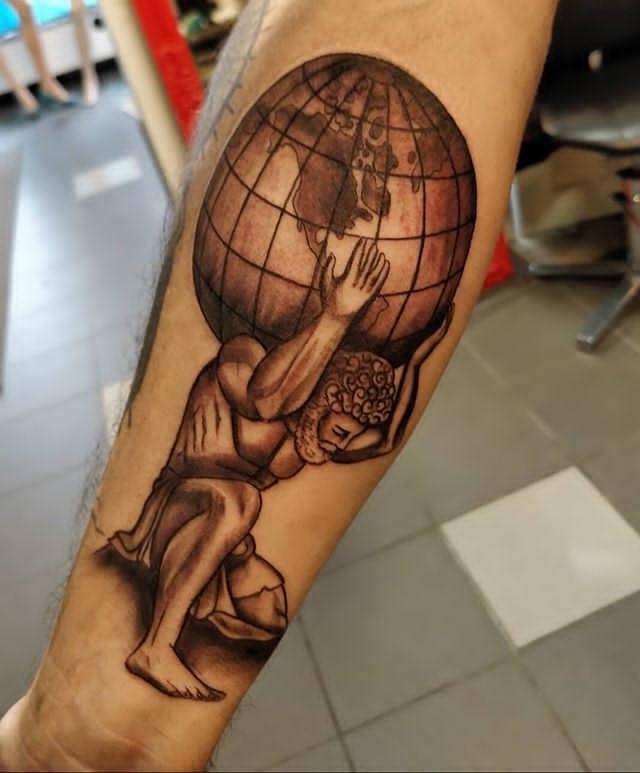 earth sign tattoo
