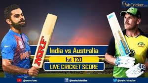 Ind vs Aus 1st T20