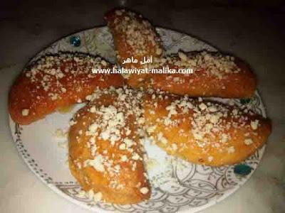 حلوة معسلة لذيذة وسهلة التحضير