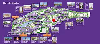 Torrejón de Ardoz, Parque Europa. Mapa.